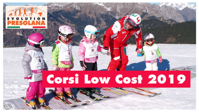 Corsi Low cost con Evolution Presolana